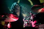 Nathan Arling, baterista de The Cynics, Santana 27, Bilbao. 2006
