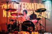 Ludwig Dahlberg, baterista de The (International) Noise Conspiracy, Santana 27, Bilbao. 2006