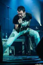 Fernando Sapo, cantante de Kuraia, Santana 27, Bilbao. 2006