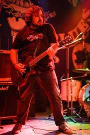 Armand Cardona, guitarrista de Biscuit (Freakland Festival, Ponferrada)