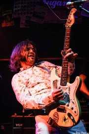 Xavi Cardona, cantante y guitarrista de Biscuit (Freakland Festival, Ponferrada)