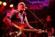 Paul Collins -voz y guitarra- y Carlos Guardado -bajo- de The Paul Collins Beat, Freakland Festival, Ponferrada. 2006