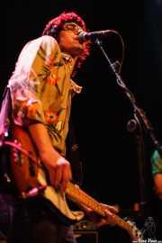 Deu Txakartegi, cantante y bajista de Standard, Bilborock, Bilbao. 2006