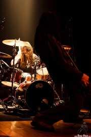 Julen Gil, baterista de Positiva, Bilbao. 2006