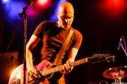 Imanol G. Alcón, cantante y guitarrista de Chico Boom, Festival Rock & Roll Explosion, Haro. 2006