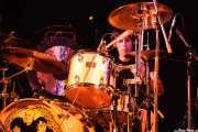 Andoni Etxebeste, baterista de Chico Boom, Festival Rock & Roll Explosion, Haro. 2006