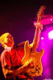 David Krahe, guitarrista de Los Coronas, Festival Rock & Roll Explosion, Haro. 2006