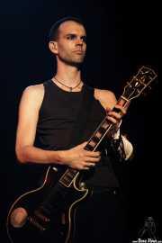 Stefan Olsdal, bajista y guitarrista de Placebo, Bilbao BBK Live. 2006