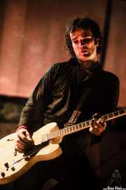 Javi Diesel, cantante y guitarrista de The Diesel Dogs (Grande Rock Festival, Jaraiz de la Vera, 2006)