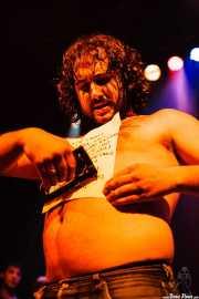 """Manu """"Gallego"""", cantante de Porco Bravo, Bilborock, 2006"""