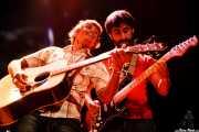 John Franks -cantante y guitarrista- y Daniel Merino -guitarrista y armonicista- de Smile, Bilborock. 2006