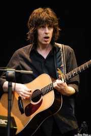 Mike Scott, cantante, guitarrista y pianista de The Waterboys (Azkena Rock Festival, Vitoria-Gasteiz, 2006)