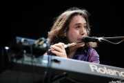 Richard Naiff, teclista, flautista de The Waterboys (Azkena Rock Festival, Vitoria-Gasteiz, 2006)