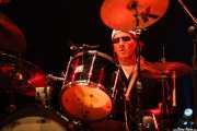 Scott Asheton, baterista de Iggy & The Stooges, Azkena Rock Festival, Vitoria-Gasteiz. 2006