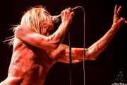 Iggy Pop, cantante de Iggy & The Stooges, Azkena Rock Festival, Vitoria-Gasteiz. 2006