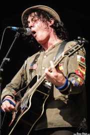 Dave Bielanko, guitarrista y cantante de Marah, Azkena Rock Festival, 2006