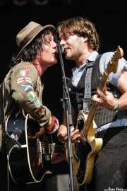 Dave and Serge Bielanko, guitarristas y cantantes de Marah, Azkena Rock Festival, 2006