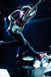 Chris Ross, bajista y teclista de Wolfmother, Azkena Rock Festival, 2006
