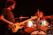 "Tom ""Two Tone Tommy"" Blankenship -bajo- y Patrick Hallahan -batería- de My Morning Jacket, Azkena Rock Festival, Vitoria-Gasteiz. 2006"