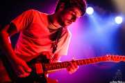 Guillermo Astrain, guitarrista de Delorean, BilboLoop, Bilbao. 2006