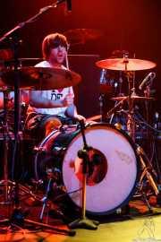 Igor Escudero, baterista de Delorean, BilboLoop, Bilbao. 2006