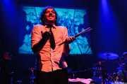 Willy Vanilli, teclista, programador, percusionista y baterista de Standard, Kafe Antzokia, Bilbao. 2006