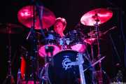 Ian White, baterista de Gallon Drunk (Kafe Antzokia, Bilbao, 2006)