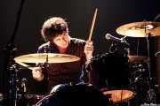 Mike Noga, baterista de The Drones, Kafe Antzokia, 2006
