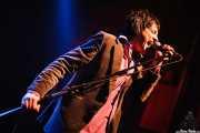 """Sören """"Sulo"""" Karlsson, cantante de Diamond Dogs (Kafe Antzokia, Bilbao, 2006)"""
