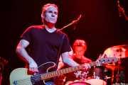 John Bazz -bajo- y Bill Bateman -batería- de The Blasters, Kafe Antzokia, Bilbao. 2006
