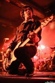 John Quincy Mire, bajista de Muck & The Mires, Santana 27, Bilbao. 2006