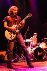 Danny Methric -guitarrista y cantante- y Matt Rost -baterista- de The Muggs, Bilbao. 2007