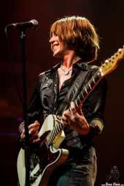 Wendy Case, guitarrista y cantante de The Paybacks, Bilbao. 2007
