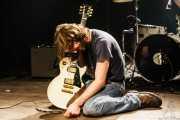 Danny Methric, guitarrista de The Paybacks, Bilbao. 2007
