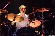 Baterista de The Paul Collins Beat, Kafe Antzokia, Bilbao. 2007