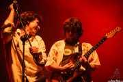 Iñigo Eiguren -voz y Oier Laka -guitarra- de The Uski's (29/01/2007)
