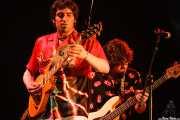 Jon Zameza -guitarra- y Anartz Laka -bajo- de The Uski's (29/01/2007)