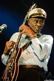 Chuck Berry, cantante y guitarrista (Bilbao Exhibition Centre (BEC), Barakaldo, 2007)