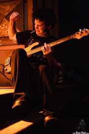 John C. Stubblefield, bajista de Lucero (Kafe Antzokia, Bilbao, 2007)