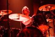 Ben Cole, baterista de The Datsuns (Kafe Antzokia, Bilbao, 2007)