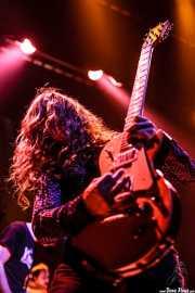 Christian Livingstone, guitarrista de The Datsuns (Kafe Antzokia, Bilbao, 2007)
