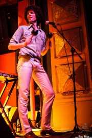 Cabezafuego, teclista de Atom Rhumba (Kafe Antzokia, Bilbao, 2007)