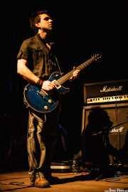 Julio Ruiz, guitarrista y cantante de Positiva, Bilbao. 2007