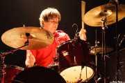 Dave Petersen, baterista de Marah (Kafe Antzokia, Bilbao, 2007)