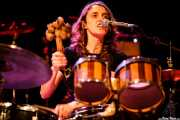 Miryam Petralanda, baterista, percusionista, multiinstrumentista de Gora Japón, Bilborock, Bilbao. 2007