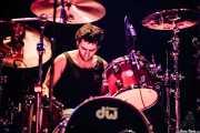Sergio Patxuko, baterista de Zizateh (Bilborock, Bilbao, 2007)
