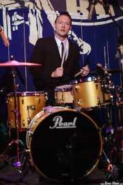 """Jason """"Teen beat"""" Smay, baterista de The Hi-Risers, Freakland Festival, Ponferrada. 2007"""