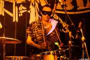 Jason Smay, baterista de The Neanderthals (Freakland Festival, Ponferrada, 2007)