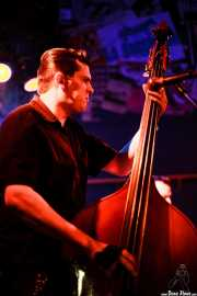 Ivan Kovacevic, contrabajista de The Nu Niles, Freakland Festival, Ponferrada. 2007
