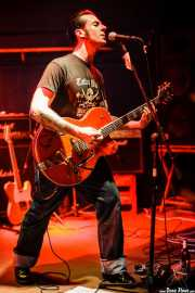 Mario Cobo, cantante y guitarrista de The Nu Niles, Freakland Festival, Ponferrada. 2007